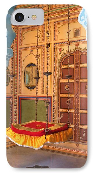Udaipur Palace Swing IPhone Case