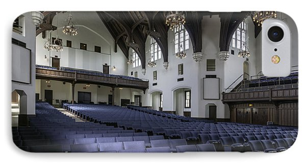 Uf University Auditorium Interior And Seating Phone Case by Lynn Palmer