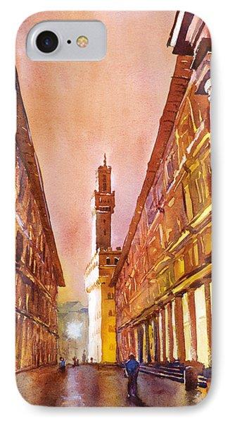 Uffizi- Florence IPhone Case