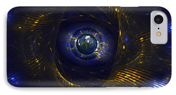 Ufo Observation Phone Case by Klara Acel