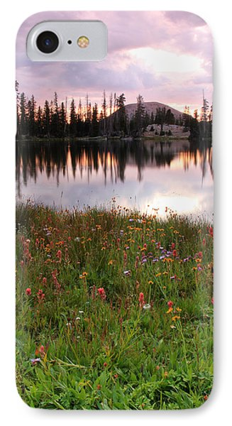 Uinta Wildflowers IPhone Case by Johnny Adolphson