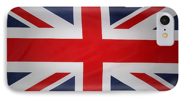 Uk Flag IPhone Case by Les Cunliffe
