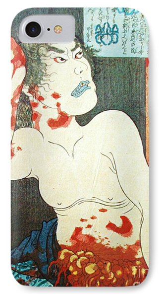 Ukiyo-e Print IPhone Case by Roberto Prusso