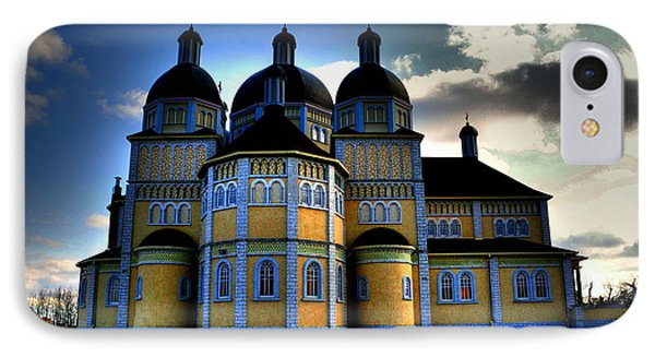 Ukrainian Catholic Church Of The Immaculate Conception IPhone Case by Larry Trupp