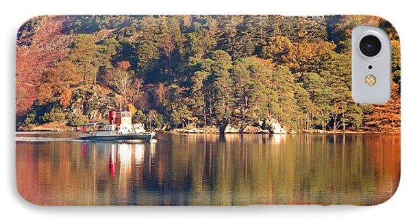 Ullswater Steamer IPhone Case by Linsey Williams