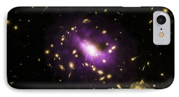 Ultramassive Black Hole IPhone Case by X-ray: Nasa/cxc/stanford/j.hlava
