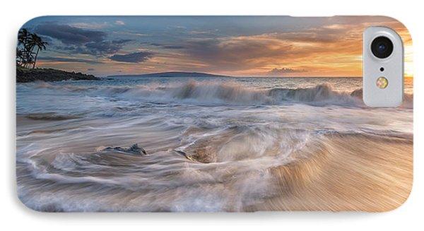 Ulua Beach Sundown IPhone Case by Hawaii  Fine Art Photography