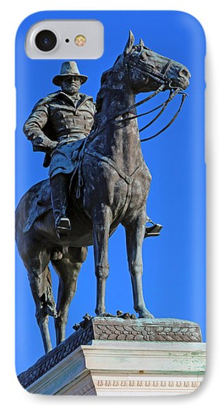 Ulysses S. Grant Guards The United States Capitol IPhone Case by Cora Wandel