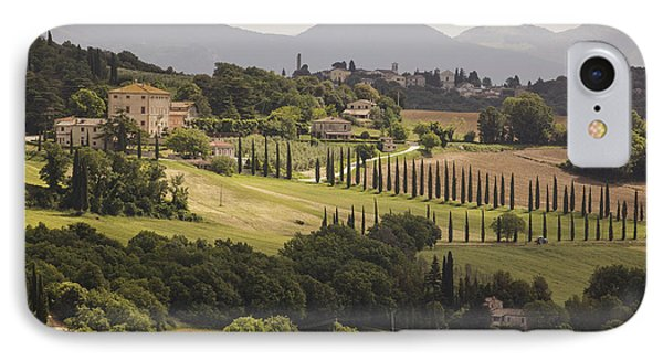 IPhone Case featuring the photograph Umbria by Uri Baruch