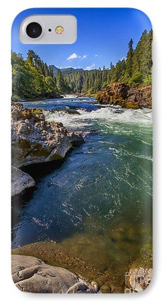 Umpqua River IPhone Case by David Millenheft