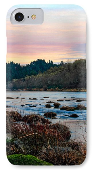 Umpqua Sunset IPhone Case by Pamela Winders