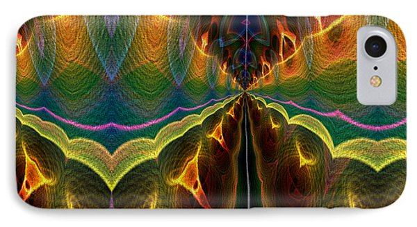 IPhone Case featuring the digital art Unbalanced Mind by Owlspook