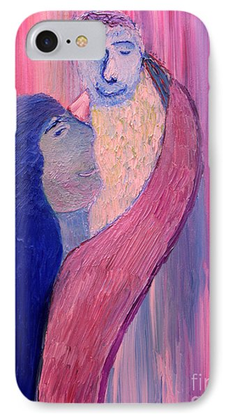 IPhone Case featuring the painting Unbreakable Bond by Vadim Levin