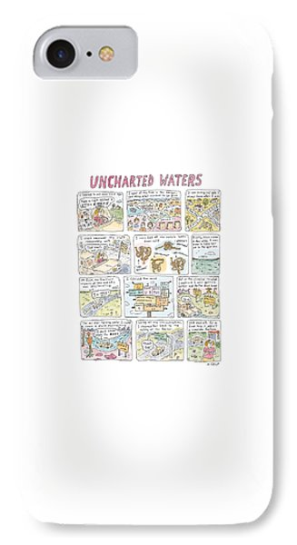 'uncharted Waters' IPhone Case