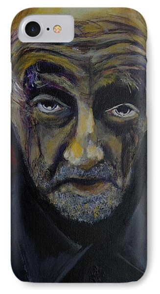 IPhone Case featuring the painting Uncle Only's Farewell by Eric Dee
