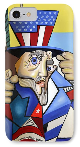 Uncle Sam 2001 IPhone Case