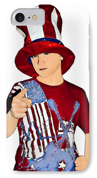 Uncle Sam Phone Case by Susan Leggett
