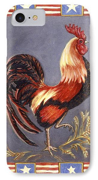Uncle Sam The Rooster Phone Case by Linda Mears