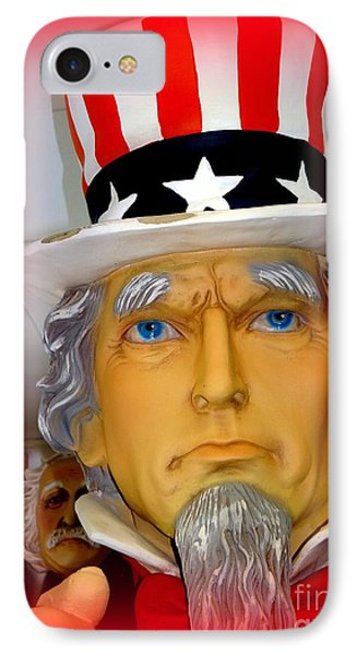 Uncle Sam Wants You IPhone Case