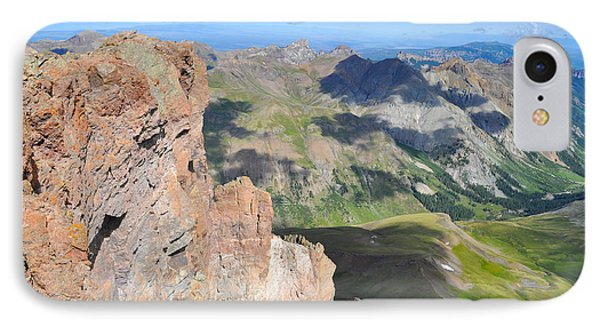 Uncompahgre Peak Summit Phone Case by Aaron Spong