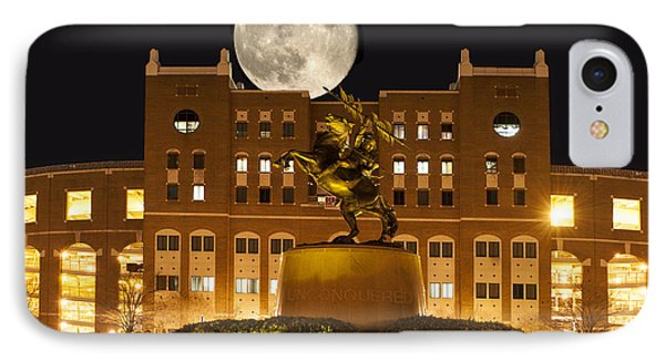 Unconquered Doak Campbell Full Moon Phone Case by Frank Feliciano