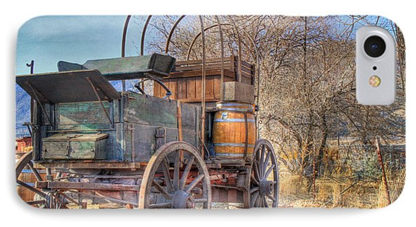 Uncovered Wagon Phone Case by Donna Kennedy