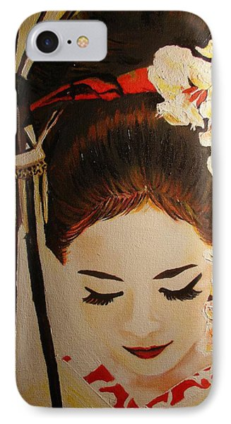 Under Cover Girl Phone Case by Lorinda Fore