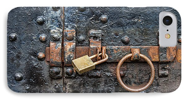 Under Lock And Key IPhone Case by Jeff Swanson