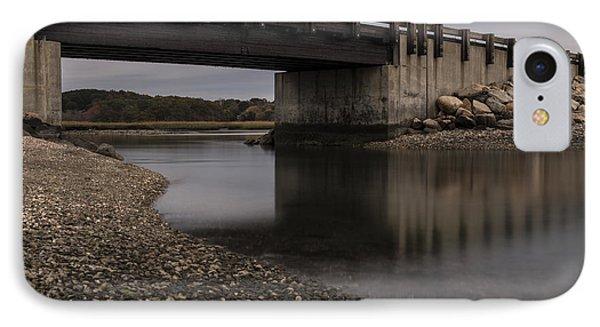 Under Seapowet Bridge IPhone Case by Andrew Pacheco