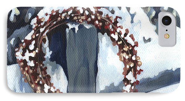 Under Snow IPhone Case by Natasha Denger