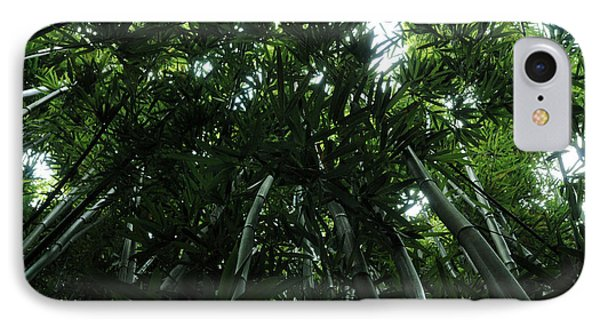 Under The Bamboo Haleakala National Park  IPhone Case by Vivian Christopher