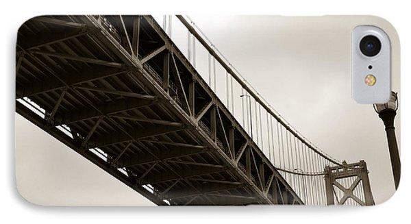 Under The Bay Bridge IPhone Case by Michelle Calkins