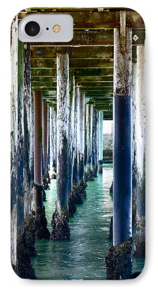 Under The Boardwalk IPhone Case by Amelia Racca