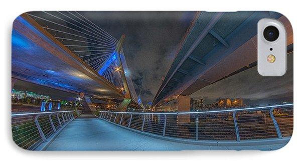 Under The Bridge Downtown IPhone Case by Bryan Xavier