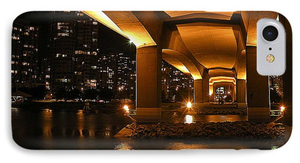 Under The Cambie Street Bridge IPhone Case by Brian Chase