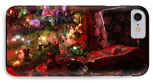 Under The Christmas Tree IPhone Case