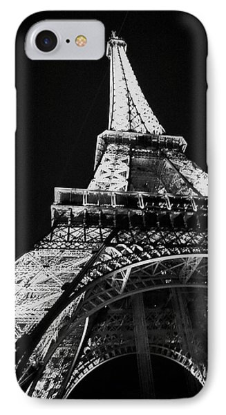 Under The Eiffel IPhone Case by Cheri Randolph