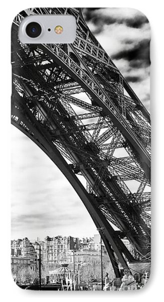 Under The Eiffel Tower IPhone Case