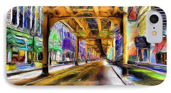 Under The El - 20 IPhone Case by Ely Arsha