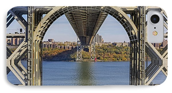 Under The George Washington Bridge IPhone Case