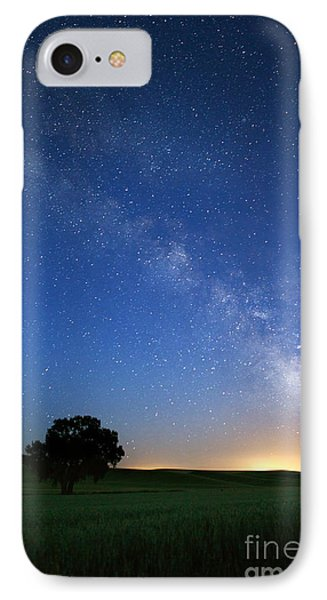Under The Milkyway IPhone Case by Beve Brown-Clark Photography