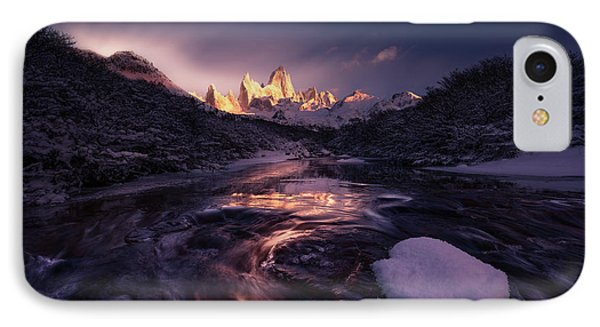 South America iPhone 7 Case - Under The Moon by Simon Roppel