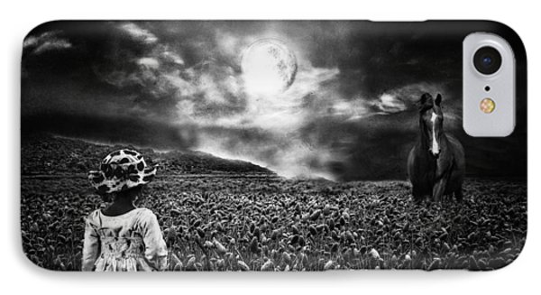 Under The Moonlight Phone Case by Sabine Peters