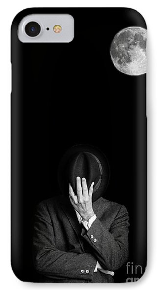 Under The Moonlight The Serious Moonlight Phone Case by Edward Fielding