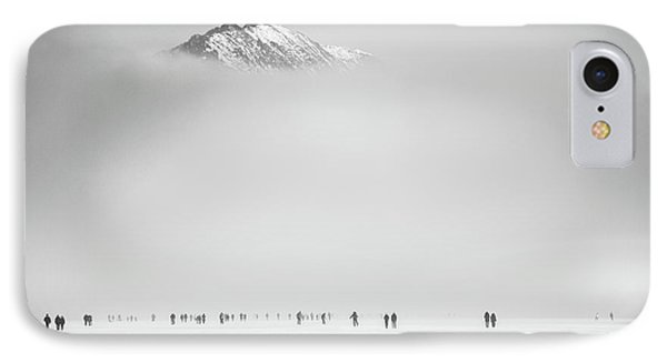 Under The Mountain IPhone Case