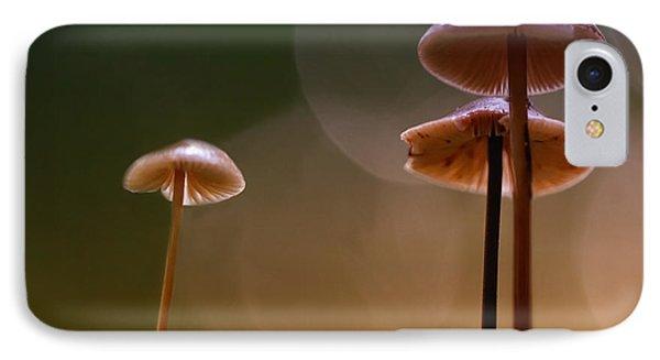 Under The Mushroom Phone Case by Kent Mathiesen