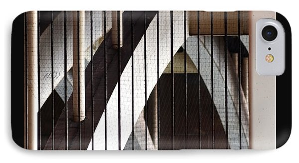 IPhone Case featuring the photograph Under The Overground by Rona Black