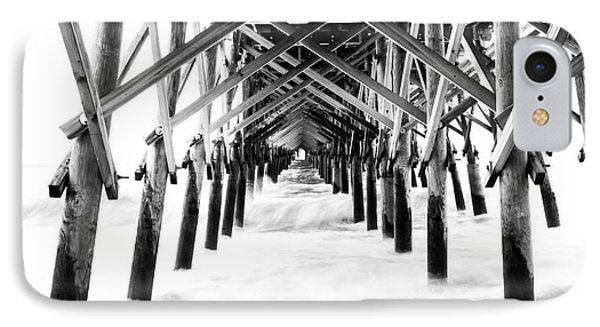 Under The Pier Folly Beach IPhone Case