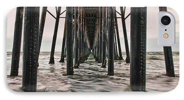 Under The Pier Phone Case by Eddie Yerkish