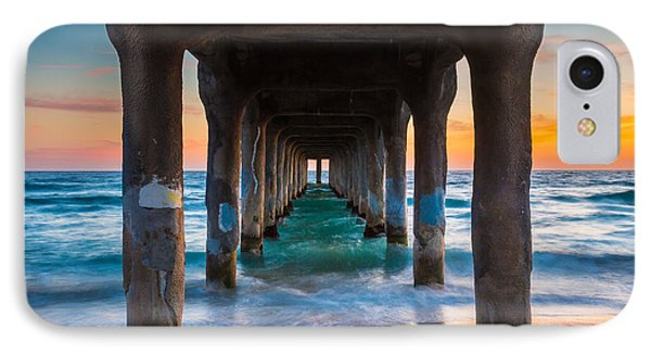 Under The Pier IPhone Case by Inge Johnsson